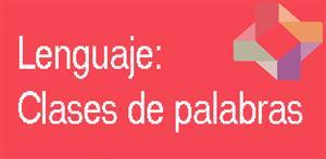 Clases de palabras (PerúEduca)