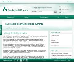 Fallece Germán Sánchez Ruipérez, fundador del Grupo Anaya