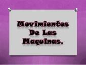 Movimientos de las máquinas (SlideShare)