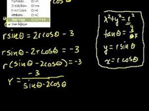 Coordenadas polares 3 (Khan Academy Español)