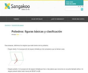 Poliedros: figuras básicas y clasificación