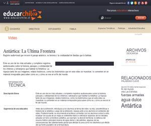 Antártica La Última Frontera (Educarchile)