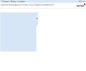 Manejo de sistemas operativos: Windows y Linux. Dirigido a coordinadores TIC (Proyecto Agrega)
