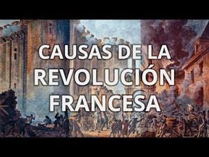 Revolución Francesa - Causas