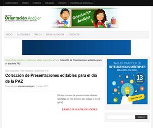 Colección de Presentaciones editables para el día de la PAZ