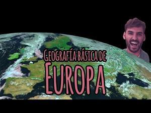 El relieve europeo: Geografía básica de Europa