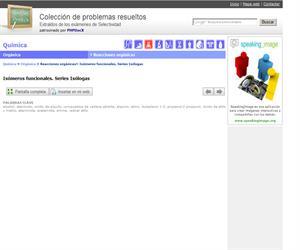 Isómeros funcionales. Series Isólogas. (Selectividad.tv)