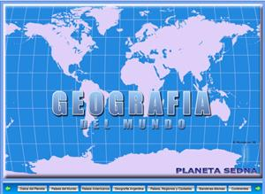 Geografía del mundo: continentes, países, ríos, capitales,...