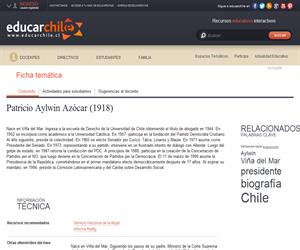 Aylwin Azócar, Patricio (1918) (Educarchile)