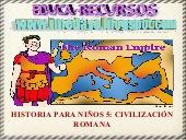 Historia para niños- La civilización romana