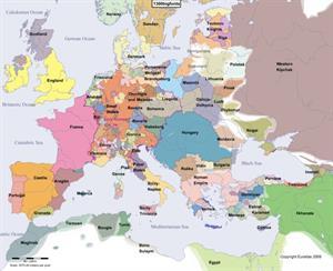 Atlas histórico de Europa interactivo (euratlas.net)