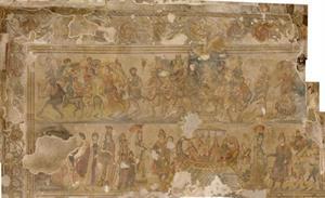 El mosaico hispánico en el Bajo Imperio: la villa de Noheda