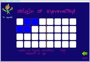 Origin of symmetry: juego para infantil para trabajar las simetrías