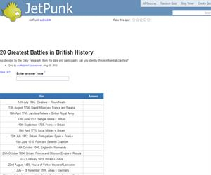 20 Greatest Battles in British History