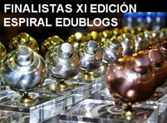 ¡Ya tenemos finalistas de la XI Edición del Premio Espiral Edublogs!!