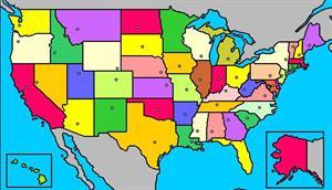 Mapa interactivo de Estados Unidos: estados y capitales (luventicus.org)