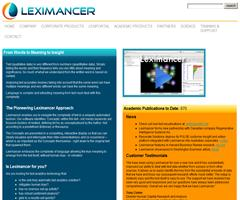 Leximancer: From Words to Meaning to Insight