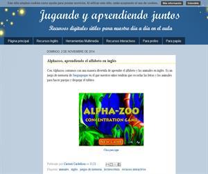 Alphazoo, aprendiendo el alfabeto en inglés