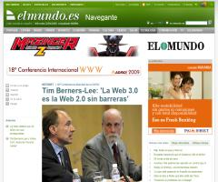 Tim Berners-Lee: 'La Web 3.0 es la Web 2.0 sin barreras'