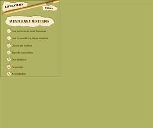 Aventuras y misterios,  prosa y literatura castellana: Cervantes y Béquer (Edu365.cat)