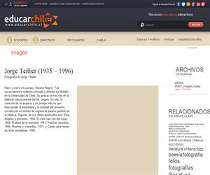 Jorge Teillier (1935 ? 1996) (Educarchile)