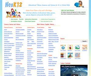 Vídeos educativos y juegos para niños de Ciencias, Mates, Ciencias Sociales e Inglés
