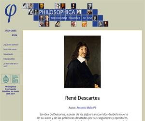 Descartes: [Philosophica: Enciclopedia filosófica on line]