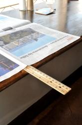 Break a Ruler Using Newspaper and Atmospheric Pressure