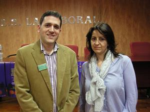 Aránzazu Sáenz y David Ureta, ganadores del Desafío Didactalia 2013