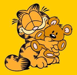 Aprende el abecedario con Garfield (inglés)