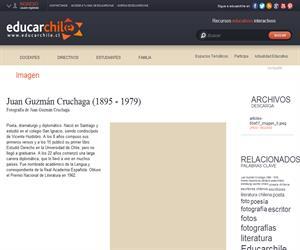 Juan Guzmán Cruchaga (1895 - 1979) (Educarchile)