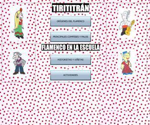 Tirititrán. Flamenco en la escuela