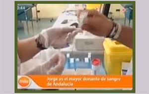 Donar sangre. Video educativo