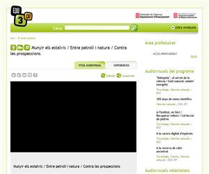 Munyir els estalvis / Entre petroli i natura / Contra les prospeccions (Edu3.cat)