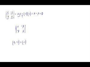 Determinante 2x2