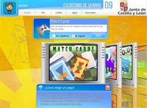 Escritorio de Verano: juegos de vacaciones para niños