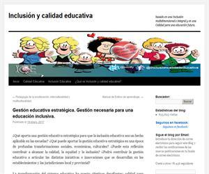 Gestión educativa estratégica. Gestión necesaria para una educación inclusiva.