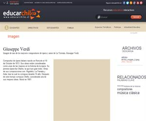 Giuseppe Verdi (Educarchile)