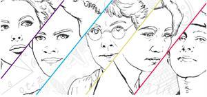 Fichas para colorear. Día Internacional de la Mujer y la Niña en la Ciencia
