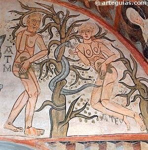 Pintura románica: pintura mural y pintura en tabla (arteguias.com)