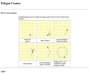 Polygon Creator, construye el polígono que desees