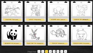Imagixs, buscador gratuito de dibujos para colorear