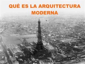 Arquitectura Moderna. Artecreha