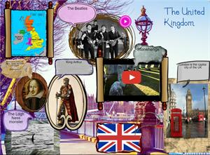 The United Kingdom (Glogster)
