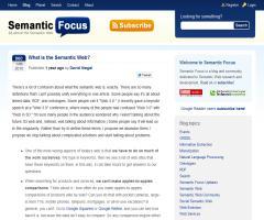 ¿Qué es la web semántica?