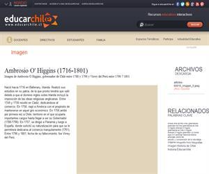 Ambrosio O'Higgins (1716-1801) (Educarchile)