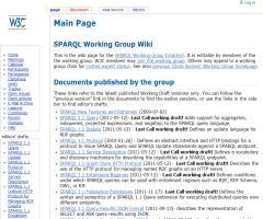 Nuevos borradores SPARQL 1.1