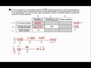Destrezas problema largo 1 - fracciones y porcentajes