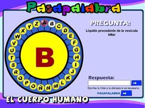 ¿Quieres jugar a pasapalabra del cuerpo humano?