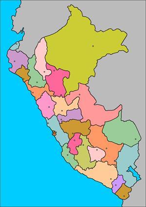 Mapa interactivo de Perú: departamentos y capitales (luventicus.org)